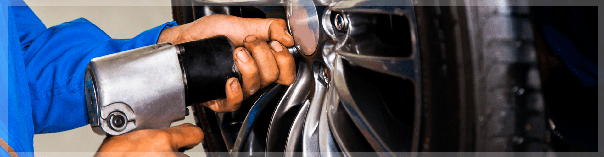 Tire installation header